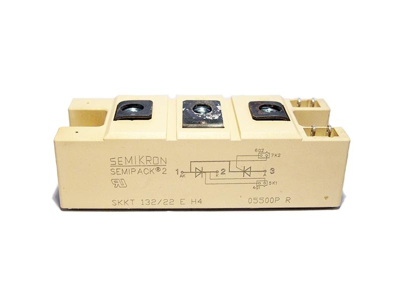 THYRISTOR-SEMIKRON-SKKT-132-22E-H4-148A-2200V